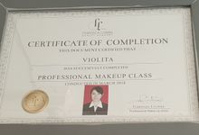 Professional Certificate by VM Makeupartist