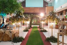 The Wedding Of Elly & Abrian by Dirasari Catering