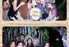 Eddy & Eltine Wedding by Foto moto photobooth