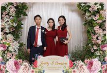 Jimmy & Ernestine Wedding by Foto moto photobooth