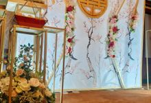 Sangjit Rhendy & Diana by Calysta Sangjit Decoration