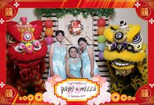 Yadi & Mella Wedding by Foto moto photobooth