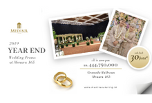 Year-end Wedding Promo Menara 165 by Medina Catering