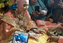Ghaziyah Ghandy & Muh Akbar Wedding by EYO WEDDING