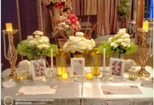Ronny & Kristin Anniversary Dinner by Phalosa Event Decoration & Table Setting
