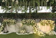 Wedding Johan & Janice - Kamaya Bali 21 Sep 2019 by Bali Bless Florist