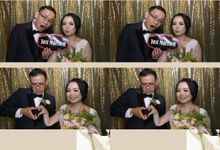 Khrisna & Ariana Wedding by Foto moto photobooth