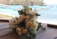 Wedding Bali Hai - Nusa Lembongan 22 Sep 2019 by Bali Bless Florist