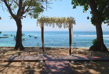 Wedding Bali Hai - Nusa Lembongan 05 oct 2019 by Bali Bless Florist