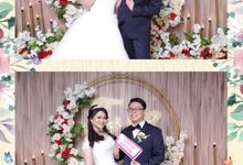 WEDDING TANRIADY & SELLY  - Photo Collage by Snapshot Photobooth