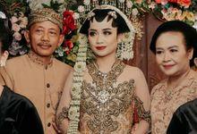 Stefani & Indra Wedding by 24k Organizer