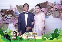 Chrisno & Wina Wedding by Foto moto photobooth