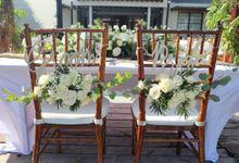 Wedding Nao & Tata - Majapahit Villa 13.10.2019 by Bali Bless Florist