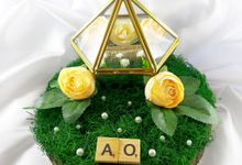 The Wedding of Olie and Andini by Mooi Ringbearer