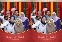 Derryna & Naufal Wedding by Foto moto photobooth