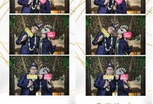 Photostrip Adhi & Hesti by Austin Photobooth