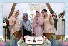 Dania & Satrio Wedding by Foto moto photobooth
