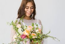 Styled Floral Installation by The Flowering Year