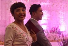 From The Wedding Reception Of Resti And Erick by MC Arief Senoaji