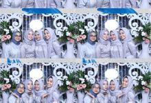 Dhea & Mahdian Wedding by Foto moto photobooth