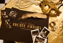 Phoebe Purnama - Customized Premium Guest Book by Sakalijadi