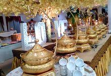 The Wedding of Tika (Dewey) & Hendriko by Dirasari Catering