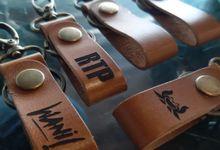 Gantungan Kunci by AM Leather Projects