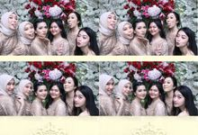 Habibah & Rizky Wedding by Foto moto photobooth