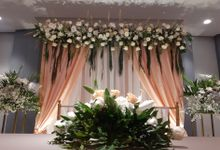 Backdrop Akad Nikah by Kalla Wedding Decor