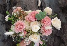 Handbouquet by nanami florist