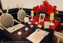 Harris & Silvia Anniversary Dinner by Phalosa Event Decoration & Table Setting
