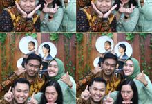 Miranti & Anggi Wedding by Foto moto photobooth