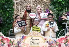 Oci & Imran Wedding by Foto moto photobooth
