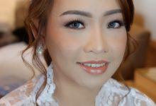 Wedding Makeup & Hairdo For Elfina by Nike Makeup & Hairdo