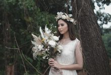 Angel in wild by Pallava Flower Studio