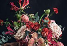 Centerpieces by Pallava Flower Studio