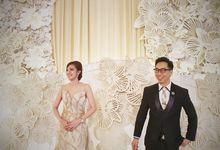 David & Lenny Wedding - Kempinski Hotel Jakarta by Mosandy Esenway management