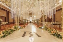 Wedding of Brandon & Angeline by 4Seasons Decoration
