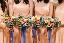 Bridesmaids Posies by The Bloomish Eden