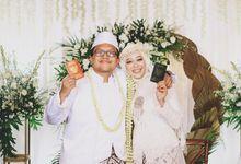 Wedding Danti & Awal by Workspace Photography