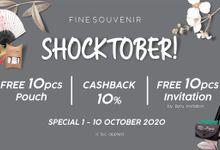 "Fine Souvenir ""Shocktober 10.10"" by Fine Souvenir"