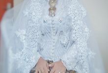 Gaun Akad dan Kain Hanan dan Robby by Griya Pengantin Andika Puri
