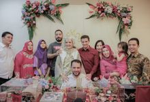 The Engagement of Yahya & Merci by Arkarna Design