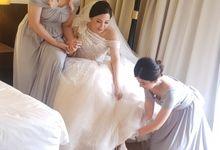 The Wedding of Ben & Mariana by Yumi Katsura Signature