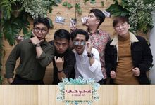 Riska & Gabriel Wedding by Foto moto photobooth