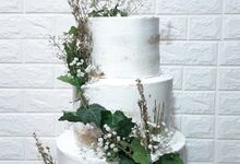 The Wedding Cake Of Samuel & Sisil by Moia Cake