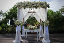 Wedding Frederico & Stephanie 22.02.2020 by Bali Bless Florist