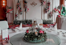 Wedding Of Melissa And Vendy by Phalosa Event Decoration & Table Setting