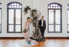 German-Peranakan Love Story by The Bloomish Eden