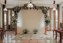 Intimate Wedding Of Hamam And Syifa by Arkarna Design